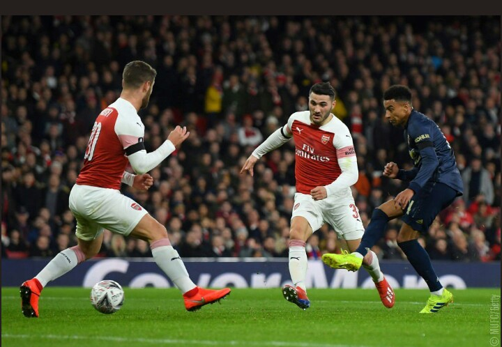 Arsenal 1 - 3 Manchester United (FA Cup Fourth Round)